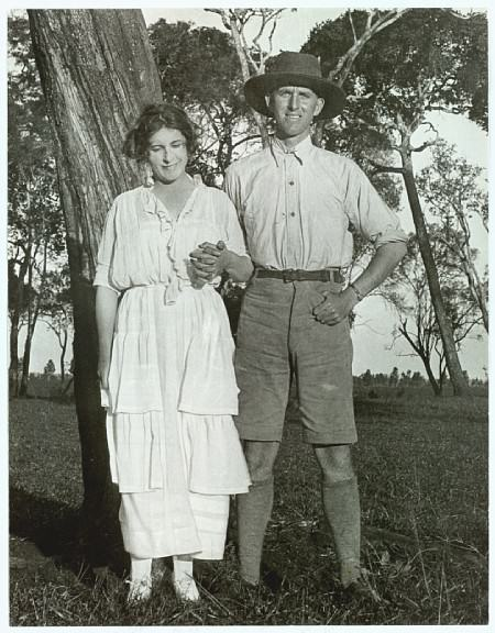 Karen Blixen in Kenya at her coffee farm
