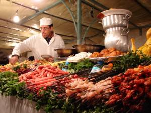 Morocco-Djemaa_el_Fna-Food_Stall-01